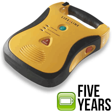 Defibtech Lifeline AED with High Capacity 5 Year Battery