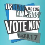 UK Blog Awards - We're nominated!