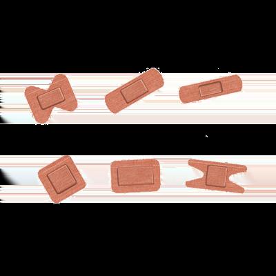 Elastic Fabric Plasters