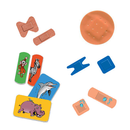 Specific Shaped Plasters