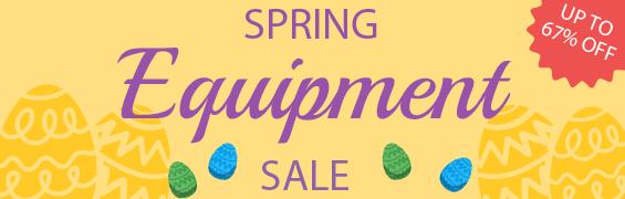Spring Equipment Sale
