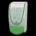Cutan 1 Litre Wall Mount Dispenser : Green Colour (for Moisturiser)