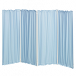 Polyester screen curtains -set of 4