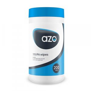 12 x Azowipette Bacterial Wipes x 200