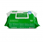 Clinell Large Universal Sanitising Wipes x 200