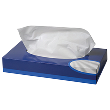 Facial Tissues White 2-Ply 216mm x 208mm x 36 boxes