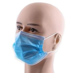 Type IIR Fluid Repellent 3-ply Face Masks x 50