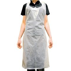 Disposable Aprons on a Roll x 200 - White-m