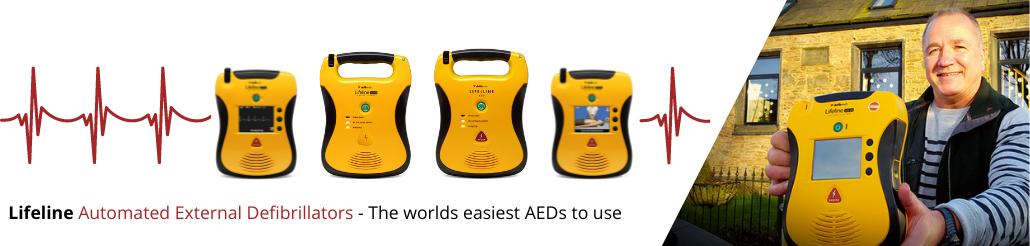 Lifeline AED Banner