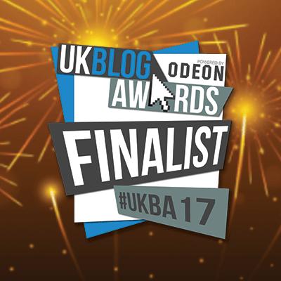 UK Blog Awards 2017 Finalist