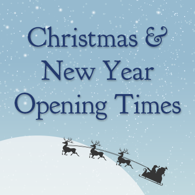 Christmas & New Year Opening Times 2016/17