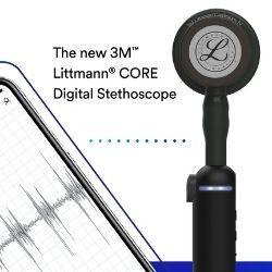 Introducing the NEW 3M™ Littmann® CORE Digital Stethoscope