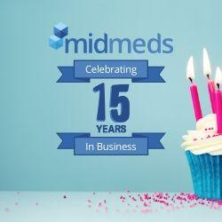 MidMeds 15th Year Anniversary